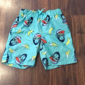 Boys swim trunks size 6/7